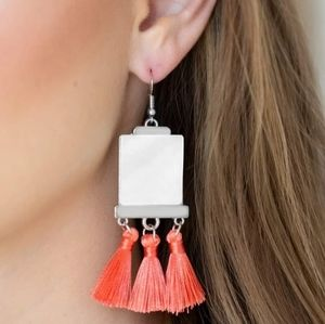 Fringe Acrylic Earrings